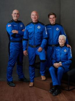 Blue Origin Astronaut Crew Flight Suits
