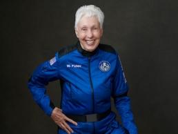 Blue Origin First Human Flight Wally Funk