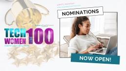TechWomen100 Nominations now open