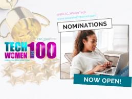 TechWomen100 Nominations, 400x300