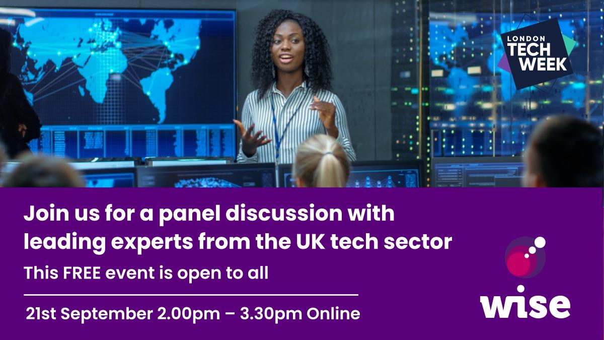 WISE, London Tech Week event