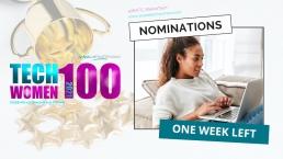 TechWomen100-One-Week-Left