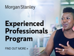 Morgan Stanley experience professionals programme featured